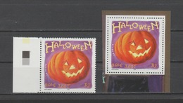 FRANCE / 2001 / Y&T N° 3428 ** : Halloween (de Feuille BdF & Du Bloc CdF) - Gomme D'origine Intacte - France