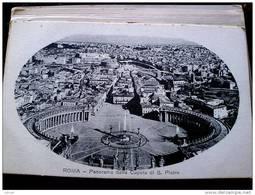 STATO CITTÀ DEL VATICANO - ( ROMA  )  PANORAMA DALLA CUPOLA DI SAN PIETRO  - VIAGGIATA REGNO 1916 - Vaticano