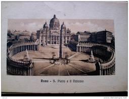 STATO CITTÀ DEL VATICANO - ( ROMA  )  SAN PIETRO  E IL VATICANO - VIAGGIATA REGNO 1912 - Vaticano