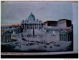 STATO CITTÀ DEL VATICANO - ( ROMA  )  PIAZZA SAN PIETRO   - VIAGGIATA REGNO 1920 - Vaticano