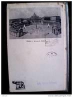 STATO CITTÀ DEL VATICANO - ( ROMA  )  PIAZZA SAN PIETRO   - TIMBRO A TARGHETTA SOTTOSCRIVETE AL PRESTITO - Vaticano