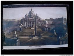 STATO CITTÀ DEL VATICANO - ( ROMA  ) IL VATICANO - VIAGGIATA REGNO 1916 - Vaticano