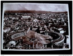 STATO CITTÀ DEL VATICANO - ( ROMA  ) PANORAMA DA SAN PIETRO - VIAGGIATA REGNO 1936 - Vaticano