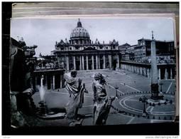 STATO CITTÀ DEL VATICANO - ( ROMA  ) PIAZZA SAN PIETRO - VIAGGIATA REPUBBLICA 1956 DESTINAZIONE SCOTLAND - Vaticano