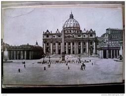 STATO CITTÀ DEL VATICANO - ( ROMA  ) BASILICA DI SAN PIETRO ANIMATA - TIMBRO A TARGHETTA ACQUISTATE I BUONI POSTALI - Vaticano