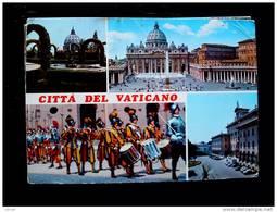 STATO CITTÀ DEL VATICANO - ( ROMA  ) CITTÀ DEL VATICANO - VIAGGIATA REPUBBLICA 1975 - Vaticano