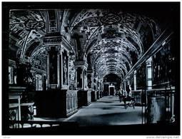 STATO CITTÀ DEL VATICANO - ( ROMA  ) SAN PIETRO BIBLIOTECA PAPA SISTO V - VIAGGIATA REPUBBLICA 1956 - Vaticano