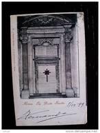 STATO CITTÀ DEL VATICANO - ( ROMA  ) SAN PIETRO LA PORTA SANTA - VIAGGIATA REGNO 1899 - Vaticano