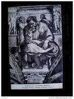 STATO CITTÀ DEL VATICANO - ( ROMA  ) CAPPELLA SISTINA  MICHELANGELO - TIMBRO A TARGHETTA SOTTOSCRIVETE AL PRESTITO - Vaticano