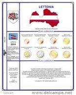 MASTERPHIL  -  LETTONIA 2014 FOGLIO PER CONTENERE LA SERIE DELLA LETTONIA 2014 - NEW - Materiale