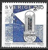 Suède 1992 N°1712 Neuf Office Des Brevets - Suède