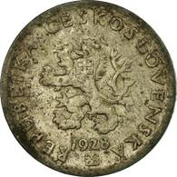 Monnaie, Tchécoslovaquie, 20 Haleru, 1928, TTB, Copper-nickel, KM:1 - Tchécoslovaquie