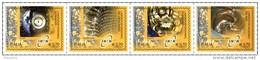 REPUBBLICA ITALIANA - ITALY - ANNO 2014 - Striscia Laboratori Nazionali Di Fisica Nucleare -  NUOVI  MNH ** - 6. 1946-.. Repubblica