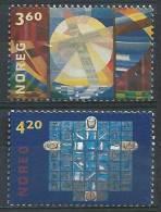 Norvège 2000 N°1314/1315 Neufs** Retables - Unused Stamps