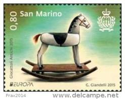 REPUBBLICA DI SAN MARINO - ANNO 2015 - EUROPA ANTICHI GIOCATTOLI - NUOVI MNH ** - Nuovi