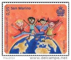 REPUBBLICA DI SAN MARINO - ANNO 2015 - GIORNATA INTERNAZIONALE DELLA FELICITÀ - NUOVI MNH ** - Nuovi