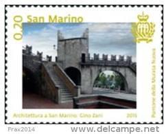REPUBBLICA DI SAN MARINO - ANNO 2015 - ARCHITETTURA A SAN MARINO GINO ZANI - NUOVI MNH ** - Nuovi