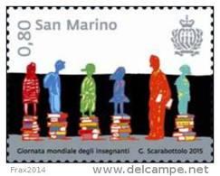 REPUBBLICA DI SAN MARINO - ANNO 2015 - GIORNATA DEGLI INSEGNANTI - NUOVI MNH ** - Nuovi