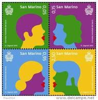 REPUBBLICA DI SAN MARINO - ANNO 2015 - GIORNATA MONDIALE DEL BACIO - NUOVI MNH ** - Nuovi