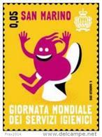 REPUBBLICA DI SAN MARINO - ANNO 2015 - GIORNATA MONDIALE SERVIZI IGIENICI - NUOVI MNH ** - Nuovi