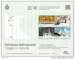 REPUBBLICA DI SAN MARINO - ANNO 2014 - BF PATRIMONIO DELL' UMANITÀ UNESCO - NUOVI MNH ** - Nuovi