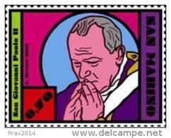 REPUBBLICA DI SAN MARINO - ANNO 2015 - ANNIVERSARIO MORTE PAPA SAN GIOVANNI PAOLO II - NUOVI MNH ** - Nuovi