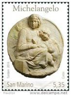 REPUBBLICA DI SAN MARINO - ANNO 2014 - MORTE MICHELANGELO  - NUOVI MNH ** - Nuovi
