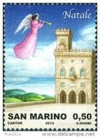 REPUBBLICA DI SAN MARINO - ANNO 2014 - NATALE  - NUOVI MNH ** - Nuovi