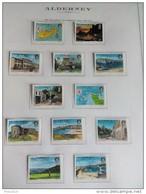 ALDERNEY  ANNO  1983 - POSTA ORDINARIA , VEDUTE  VAl,ORI 12 -  NUOVI MNH ** - Alderney