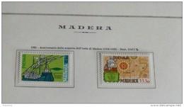 PORTOGALLO ( MADEIRA ) ANNO 1981 - ALLA SCOPERTA DELL' ISOLA -  NUOVI MNH ** - Madeira