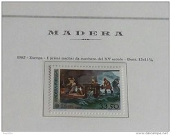 PORTOGALLO ( MADEIRA ) ANNO 1982 - EUROPA I MULINI DA ZUCCHERO -  NUOVI MNH ** - Madeira