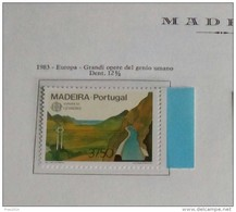 PORTOGALLO ( MADEIRA ) ANNO 1983  EUROPA GRANDI PROGETTI -  NUOVI MNH ** - Madeira