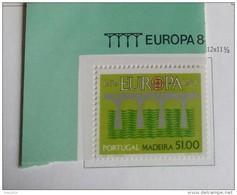 PORTOGALLO ( MADEIRA ) ANNO 1984 EUROPA -  NUOVI MNH ** - Madeira