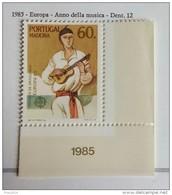 PORTOGALLO ( MADEIRA ) ANNO 1985 EUROPA ANNO DELLA MUSICA  NUOVI MNH ** - Madeira