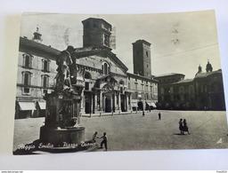 ITALY - REGGIO EMILIA - ( REGGIO EMILIA ) PIAZZA DUOMO - VIAGGIATA 1957 - Reggio Emilia