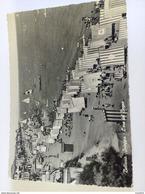 ITALY - BELLARIA - ( RIMINI ) SPIAGGIA L' ORA DEL BAGNO - VIAGGIATA 1955 - Rimini
