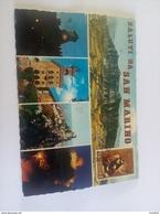 SAN MARINO - SALUTI DA   - VIAGGIATA 1967 ( Francobollo Asportato ) - San Marino