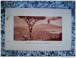 ITALY CAMPANIA - NAPOLI ( NAPOLI ) PANORAMA DA SAN MARTINO - VIAGGIATA REGNO 1917 - Napoli