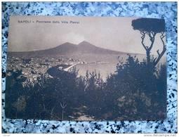 ITALY CAMPANIA - NAPOLI ( NAPOLI ) PANORAMA DALLA VILLA PATRIZI - VIAGGIATA REGNO 1912 - Napoli