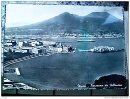 ITALY CAMPANIA - NAPOLI ( NAPOLI ) PANORAMA PRESO DA VILLANOVA - VIAGGIATA 1957 - Napoli