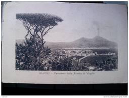 ITALY CAMPANIA - NAPOLI ( NAPOLI ) PANORAMA DALLA TOMBA DI VIRGILIO - VIAGGIATA 1918 - Napoli