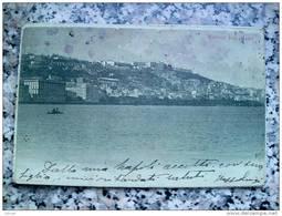 ITALY CAMPANIA - NAPOLI ( NAPOLI ) NAPOLI DAL MARE - VIAGGIATA 1908 - Napoli