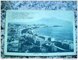 ITALY CAMPANIA - NAPOLI ( NAPOLI ) PANORAMA - VIAGGIATA 1917 - Napoli