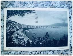 ITALY CAMPANIA - NAPOLI ( NAPOLI ) PANORAMA - VIAGGIATA 1935 - Napoli