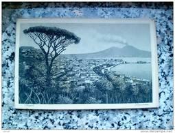 ITALY CAMPANIA - NAPOLI ( NAPOLI ) PANORAMA - VIAGGIATA REGNO 1938 - Napoli