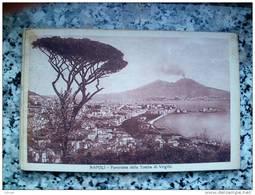 ITALY CAMPANIA - NAPOLI ( NAPOLI ) PANORAMA DALLA TOMBA DI VIRGILIO - VIAGGIATA REGNO 1925 - Napoli