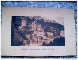 ITALY CAMPANIA - NAPOLI ( NAPOLI ) PARCO GRIFEO E HOTEL BERTOLINI - VIAGGIATA REGNO 1926 - Napoli
