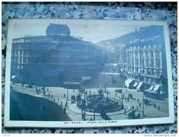 ITALY CAMPANIA - NAPOLI ( NAPOLI ) PIAZZA DELLA BORSA - VIAGGIATA REGNO 1926 - Napoli