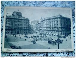 ITALY CAMPANIA - NAPOLI ( NAPOLI ) PIAZZA DELLA BORSA - VIAGGIATA REGNO 1932 - Napoli