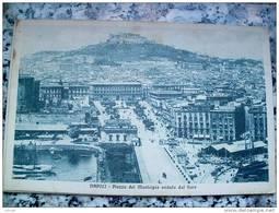 ITALY CAMPANIA - NAPOLI ( NAPOLI ) PIAZZA DEL MUNICIPIO VEDUTA DAL FARO - VIAGGIATA REGNO 1915 - Napoli